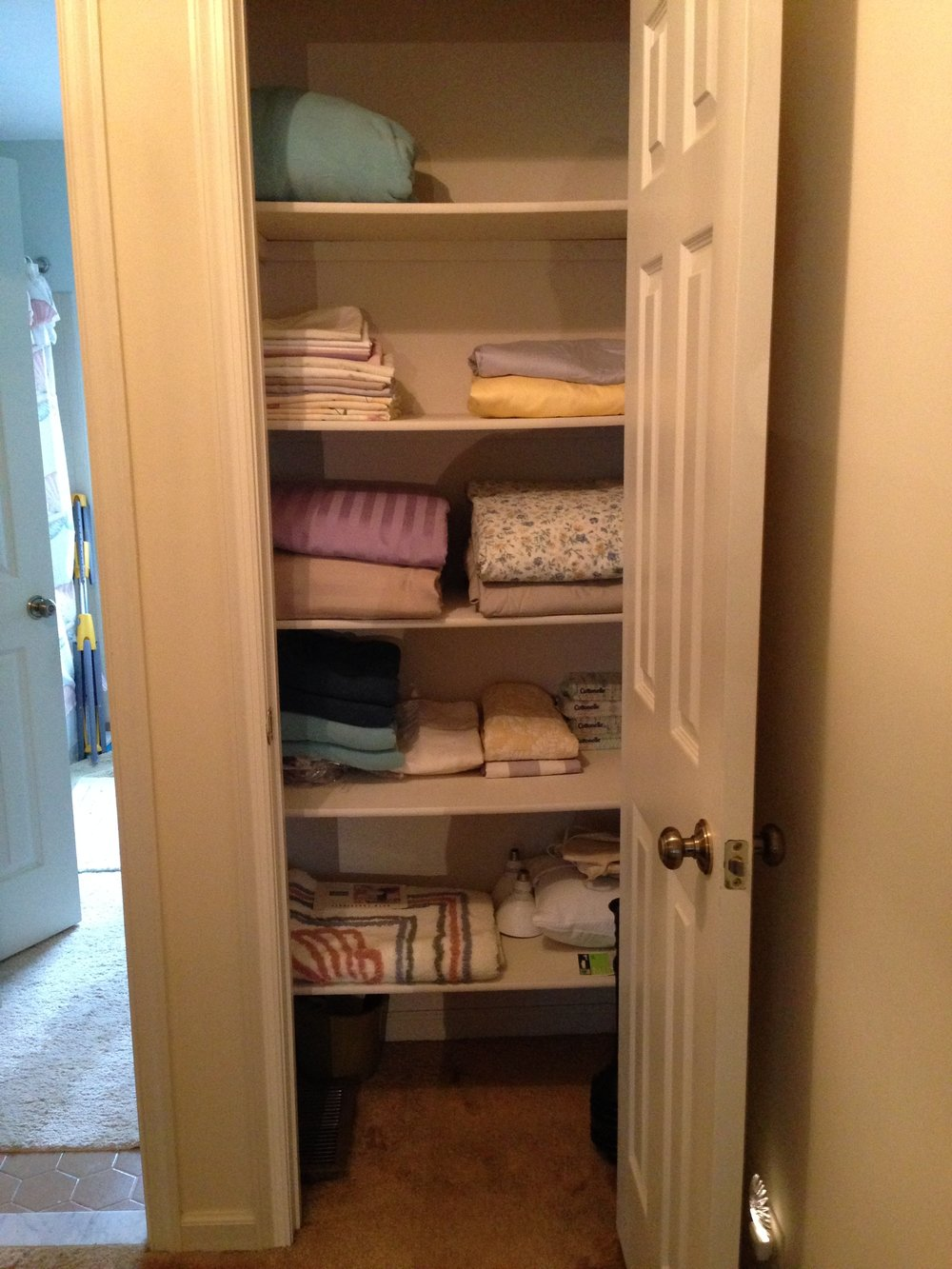 CLOSET:   AFTER