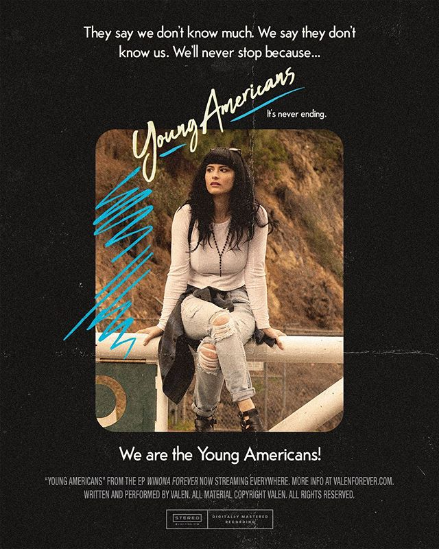 """""""Young Americans"""" now streaming or listen live TONIGHT in #austin @hotelvegastexas with @kirinjcallinan and @calebdecasper . All links in bio !"""