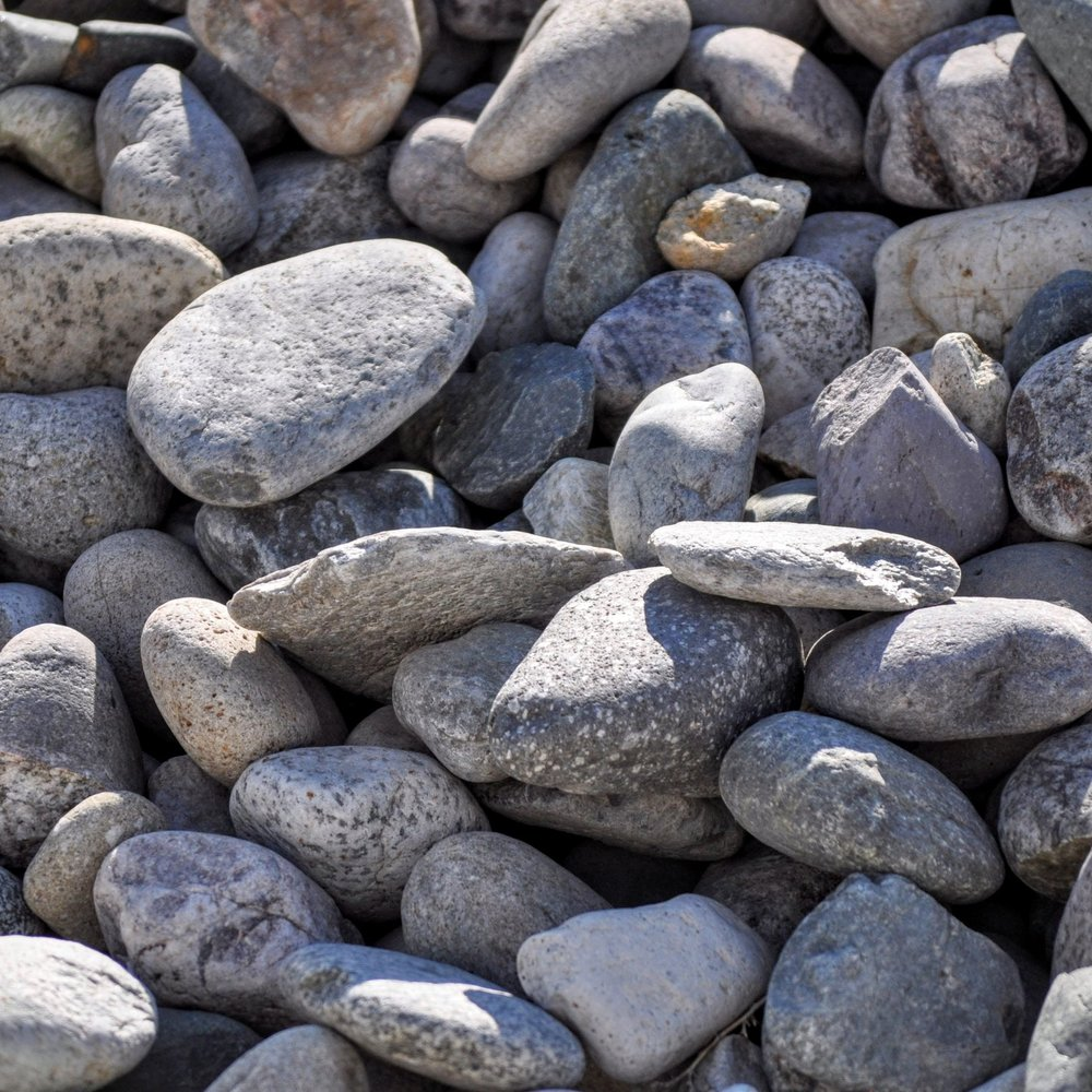 "Class A, Rip Rap 4-8""  Large cobble rock, used for erosion protection.  Also a great landscaping material."