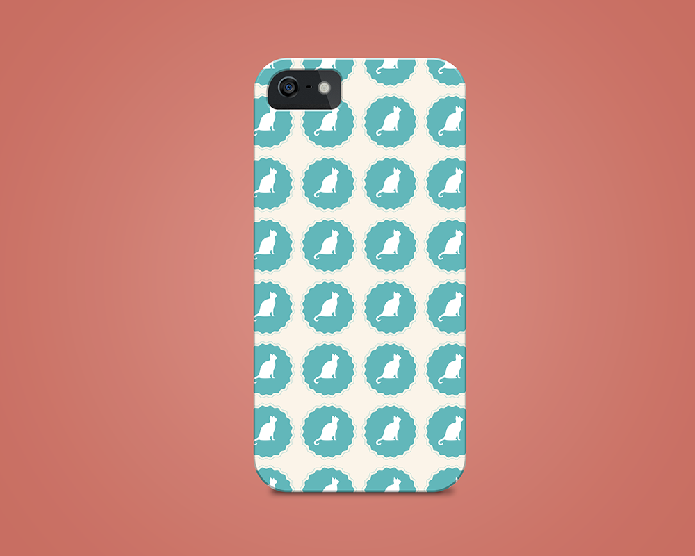 kim-gee-studio-graphic-design-brooklyn-cat-sitting-phone-case