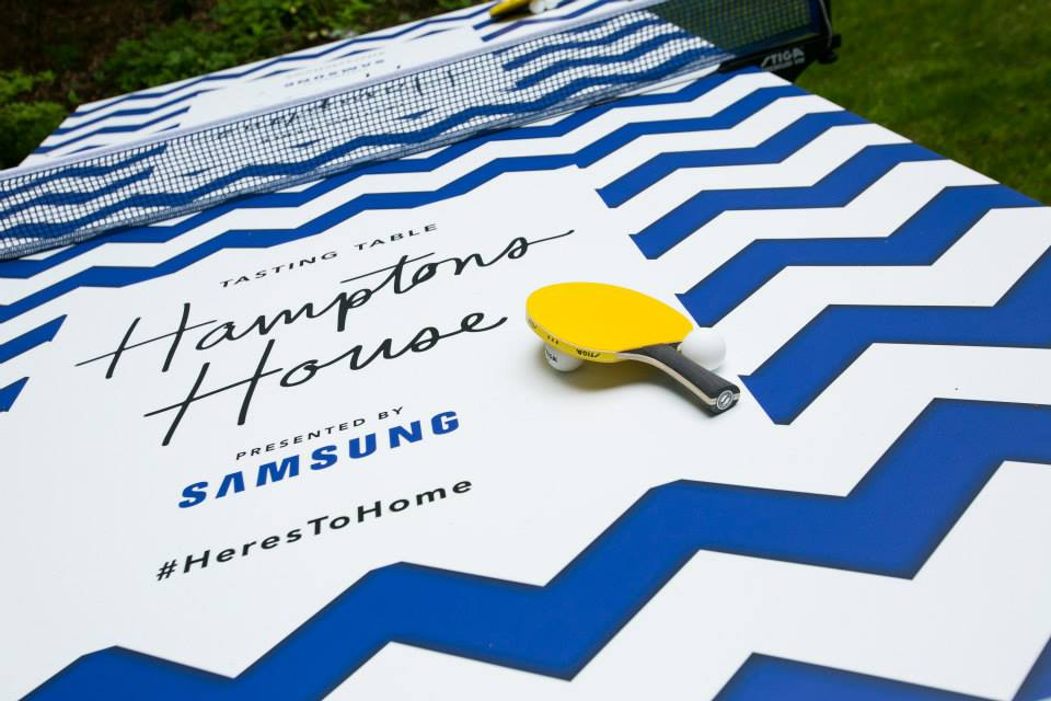 Samsung presents Hamptons House Brand identity, event collateral