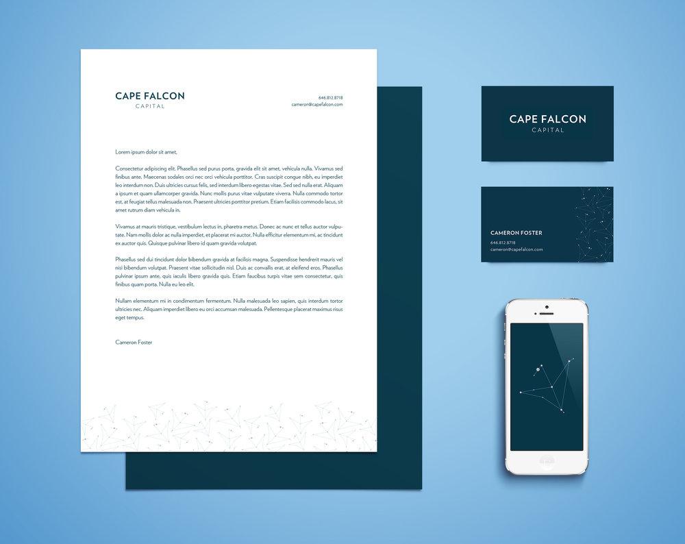 Cape Falcon Capital Brand identity