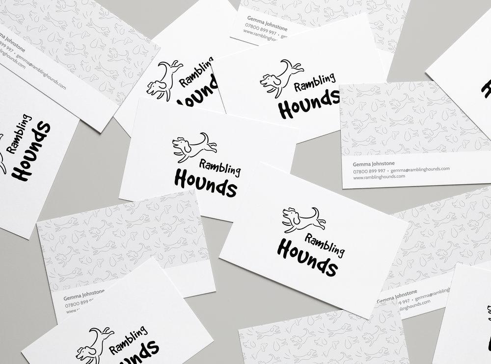Rambling Hounds Brand identity, web design