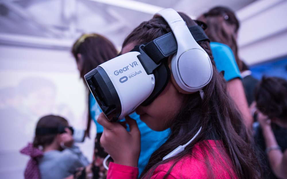 Unicef Samsung VR somos fotocreativos ryan gray media