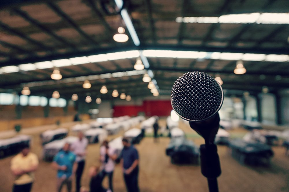 live presentations -