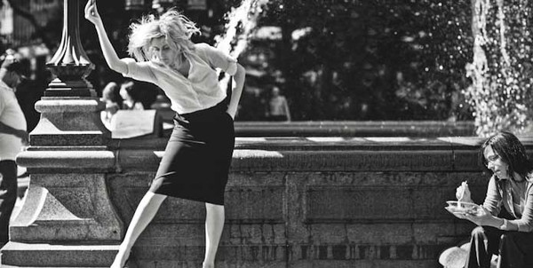 "Greta Gerwig stars in ""Frances Ha."""