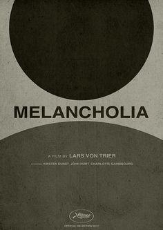 """Melancholia"" minimalist art"