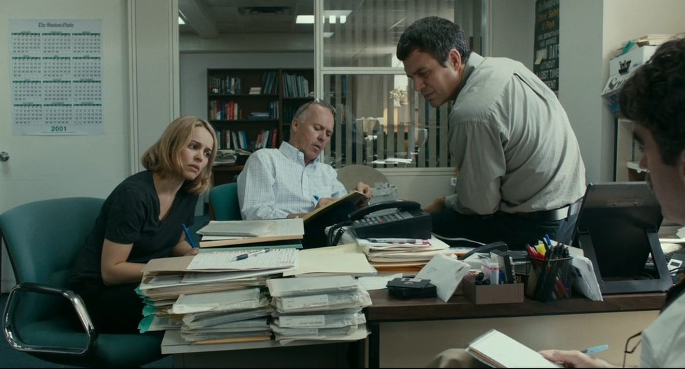 'Spotlight,' starring Michael Keaton,Rachel McAdams and Mark Ruffalo,opens in theaters nationwide Nov. 13. (Photo courtesy of Open Road Films, used with permission.)