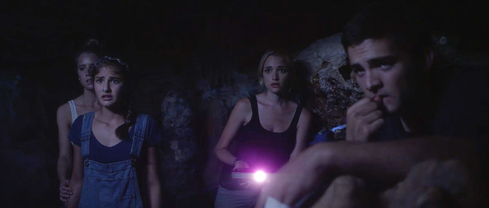 """""""Time Trap"""" stars (from left) Cassidy Gifford, Olivia Draguicevich, Brianne Howey and Reiley McClendon.( Image courtesy of Seattle International Film Festival / used with permission )"""