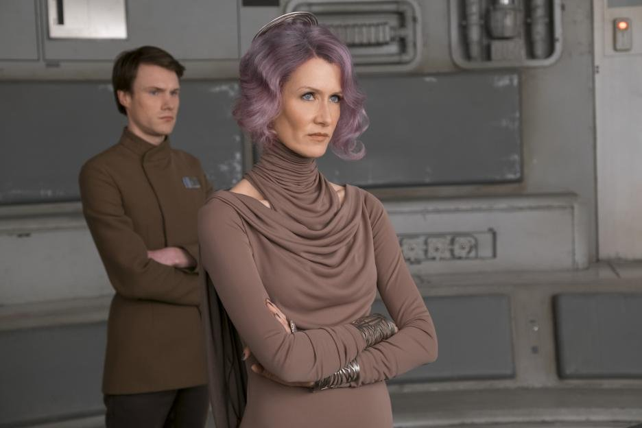 Could have been a solid Leia replacement for Episode 9 - but the Holdo manuever was worth it.