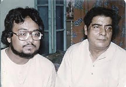 Pt. Shyamal Bose with Student.jpg