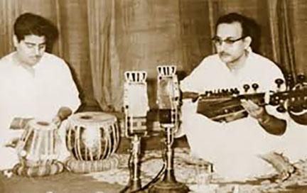 Pt. Shyamal Bose with Radhika Mohan Moitra.jpg