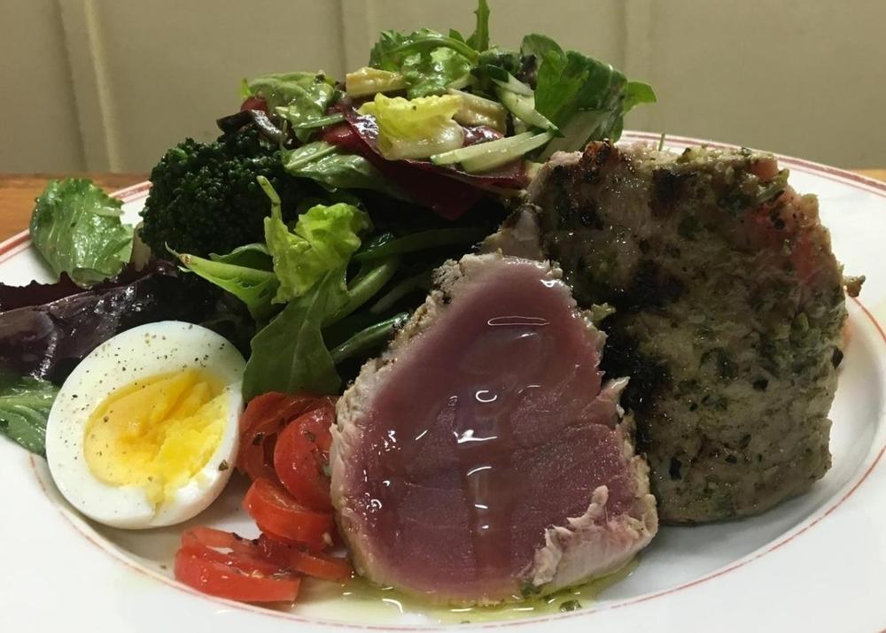 Ahi Nicoise Salad