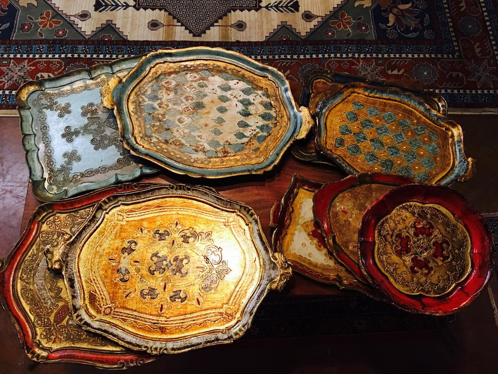 New shipment of beautiful Italian Trays. Perfect for all your holiday parties and great hostess gifts! Come see us for all your holiday needs!!! 2195 Calder Ave, Beaumont, TX 77701, 409.835.3080