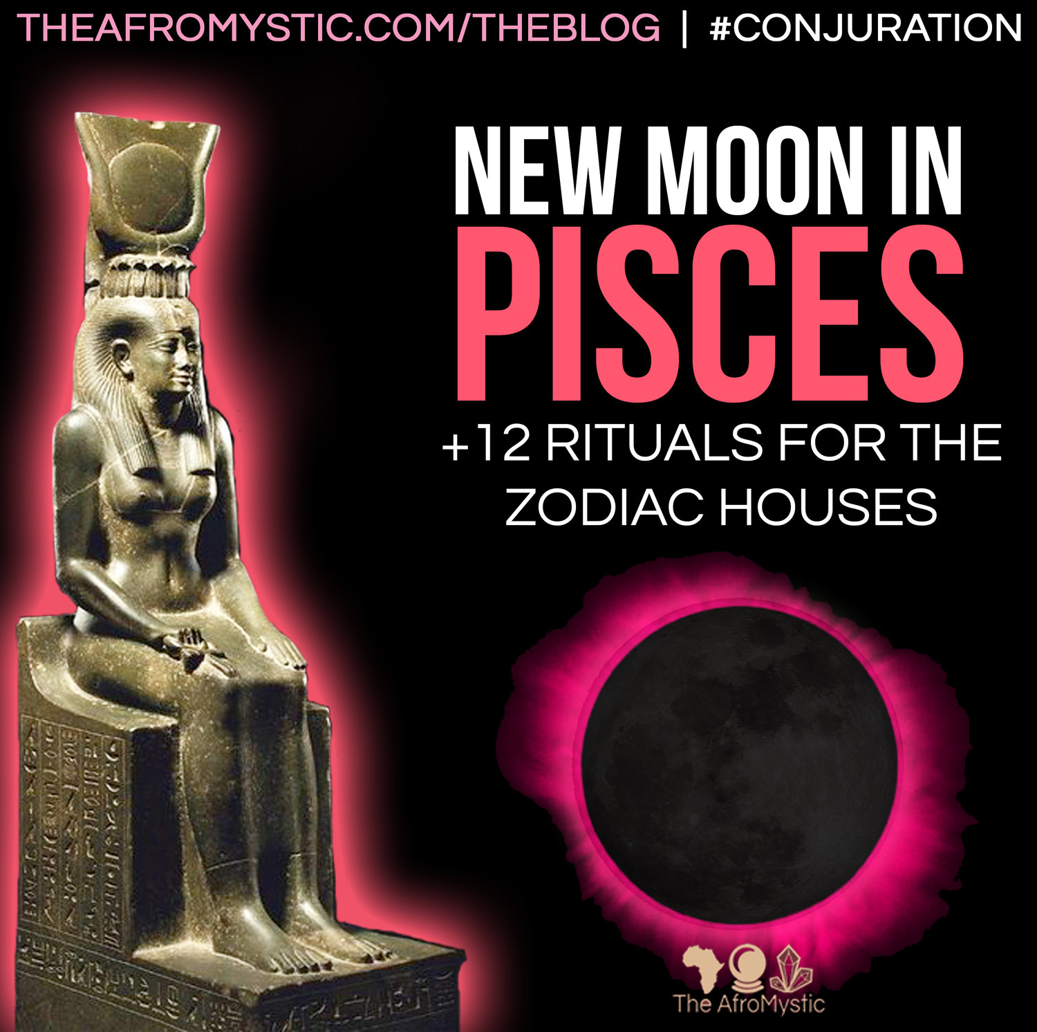 New Moon + Eclipse In Pisces: 12 Simple Rituals for your