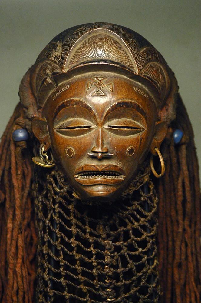 Chokwe mask; Kongo
