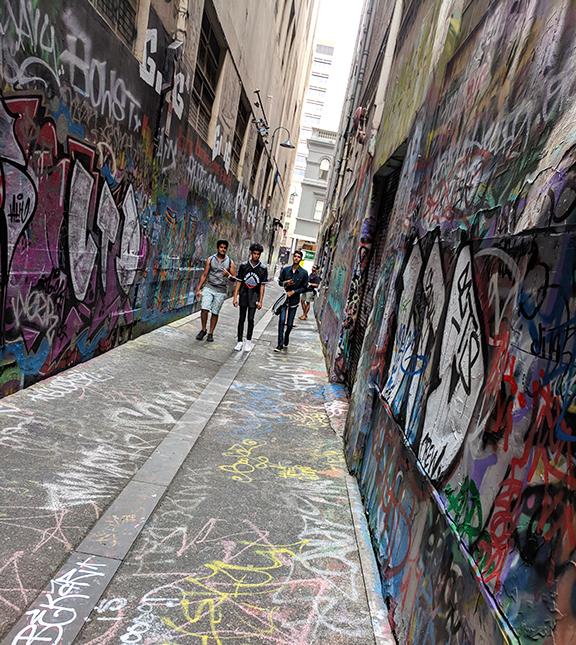 Union Lane Melbourne CBD