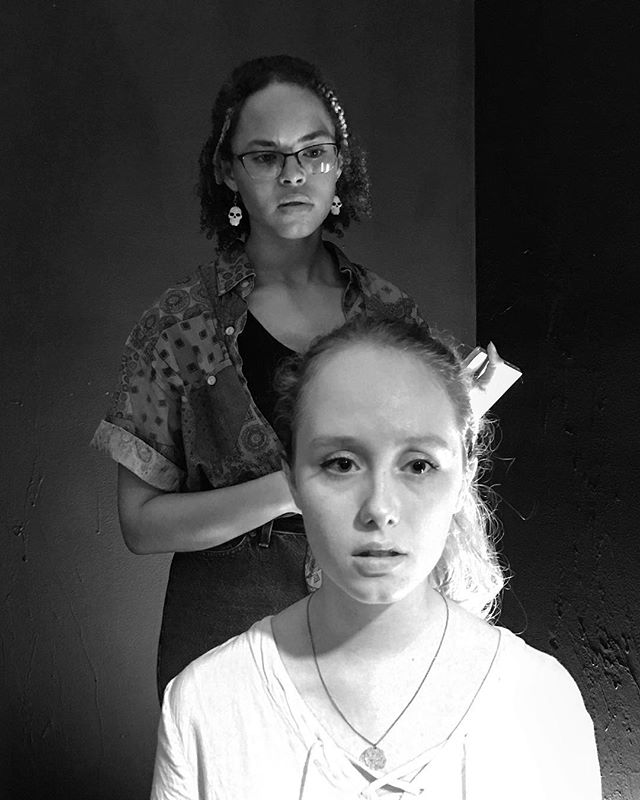 Photo from SINGULARITY rehearsal. Performances start this Wednesday. Buy your tickets now. Link is right in our bio.