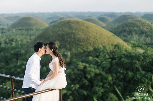 #preweddingphoto at the #unesco site at Chocolate Hills