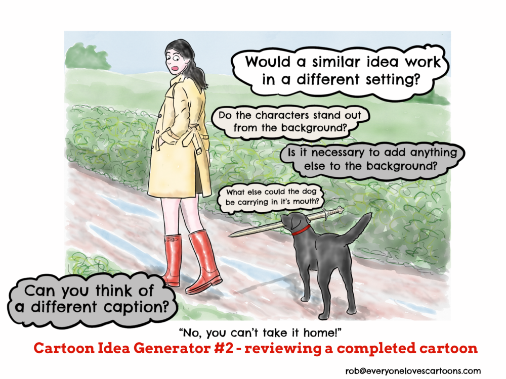 Cartoon Idea Generator #2 — everyonelovescartoons com