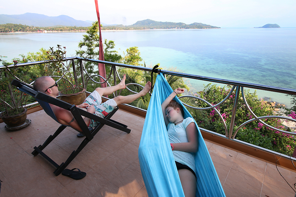 Just sit back - relax and enjoy what Koh Phangan has to offer