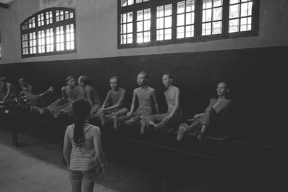 Fascinating history at the Hanoi Prison
