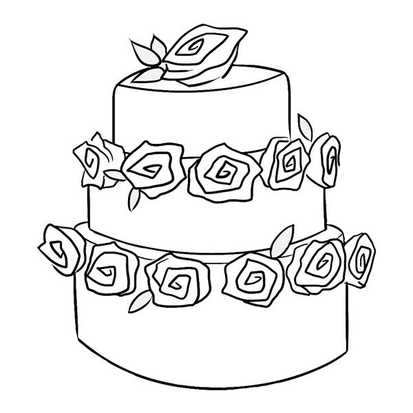 WED-01 Cake