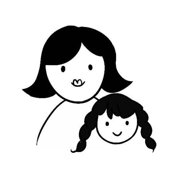 FAM-01 Mom & Daughter
