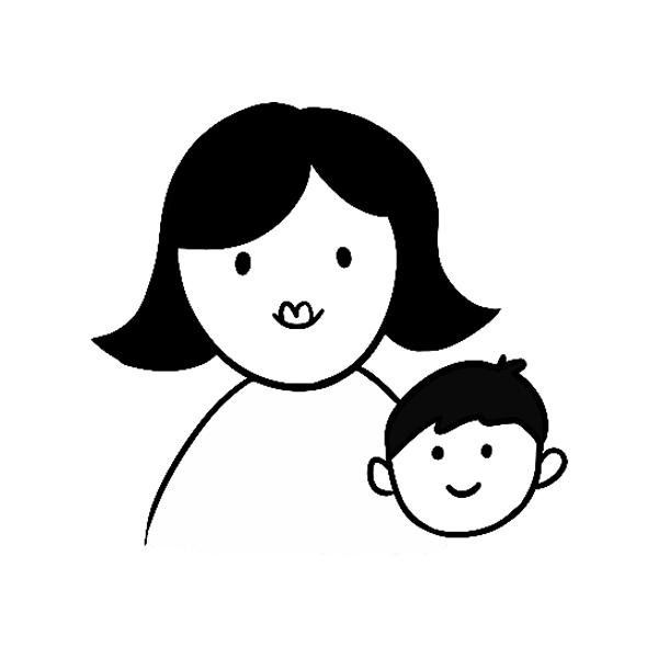 FAM-02 Mom & Son