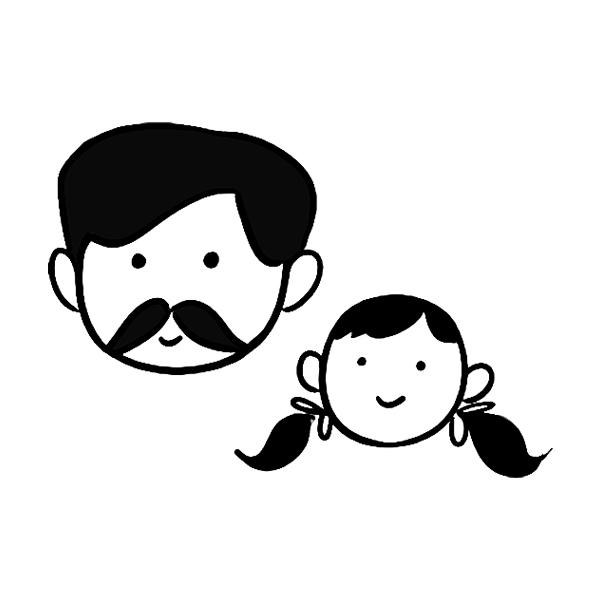 FAM-03 Dad & Daughter