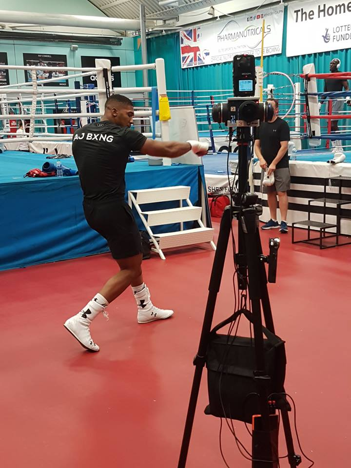 360_VR_Anthony_Joshua_Fight_Training
