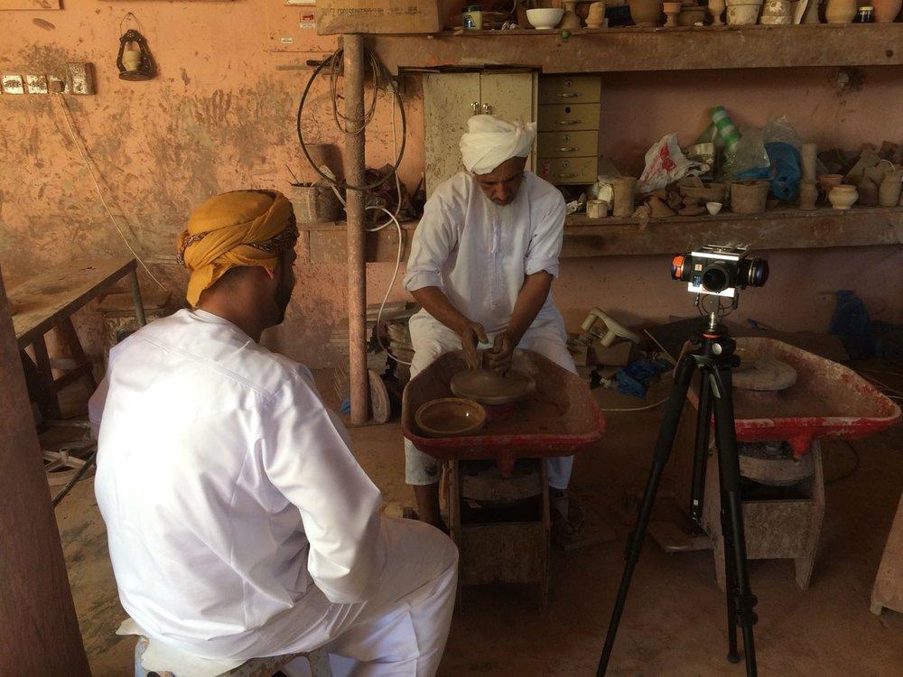 360VR_Oman_Pottery_Maker