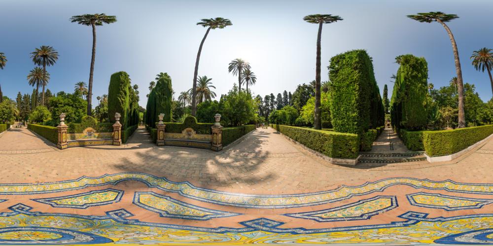 360_VR_Tour_Alcazar_Palace_Seville