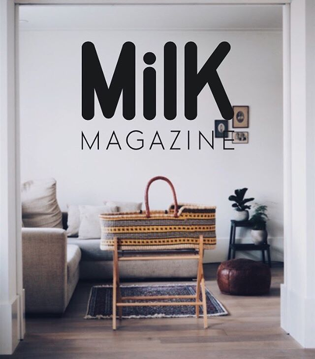 The first outcome of collaborating with the weavers in Ghana, the Uma moses basket, shot in our living room. 🌿  In the past three years this picture has been shared hundreds of times and now @milk_magazine featured this image along with an interview about @thekindlabel Couldn't be more proud and happy where this journey is taking us and could not have done it without all (almost) 17k of you. Thank you for supporting!! 👐🏾👐🏾 x Prisca