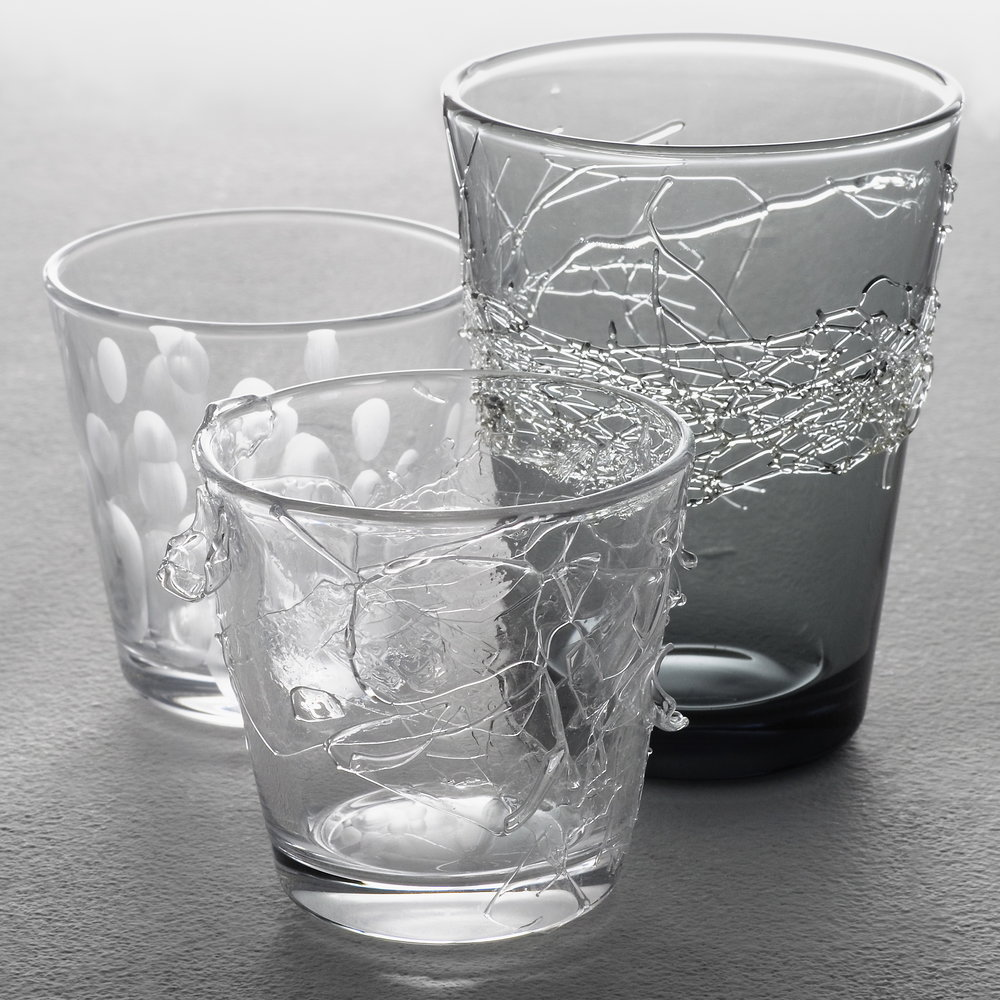 Jewels of glass