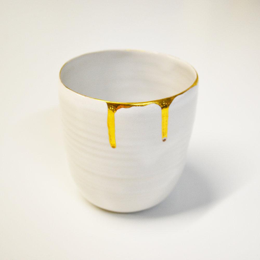Liquid gold -cup