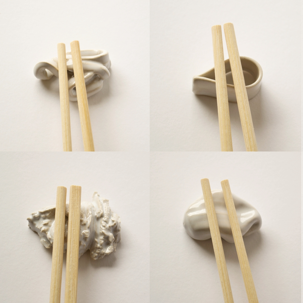 I love sushi -chopstick rest