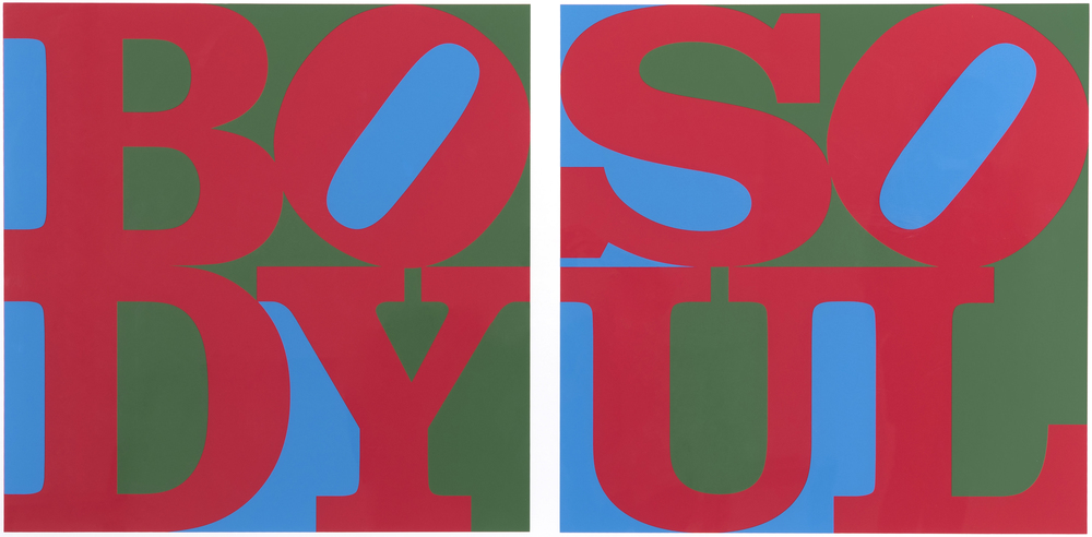 Robert Indiana's Body/Soul