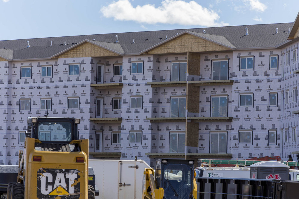The floors of Graystone Heights will serve slightly different markets.