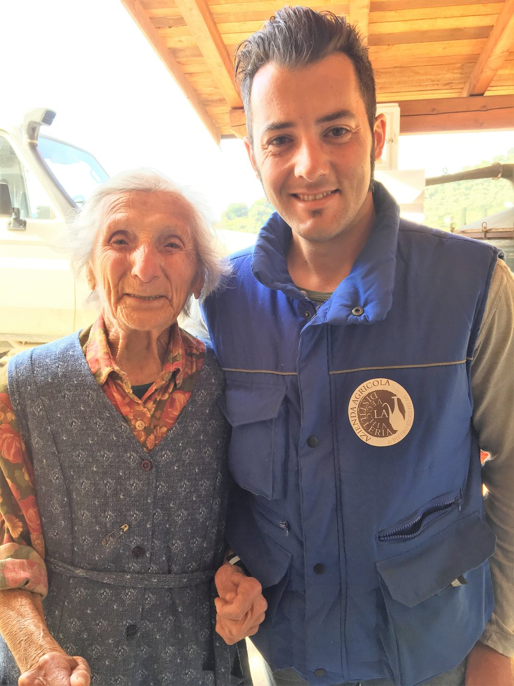 Lorenzo with Nonna Ines (93 years old)