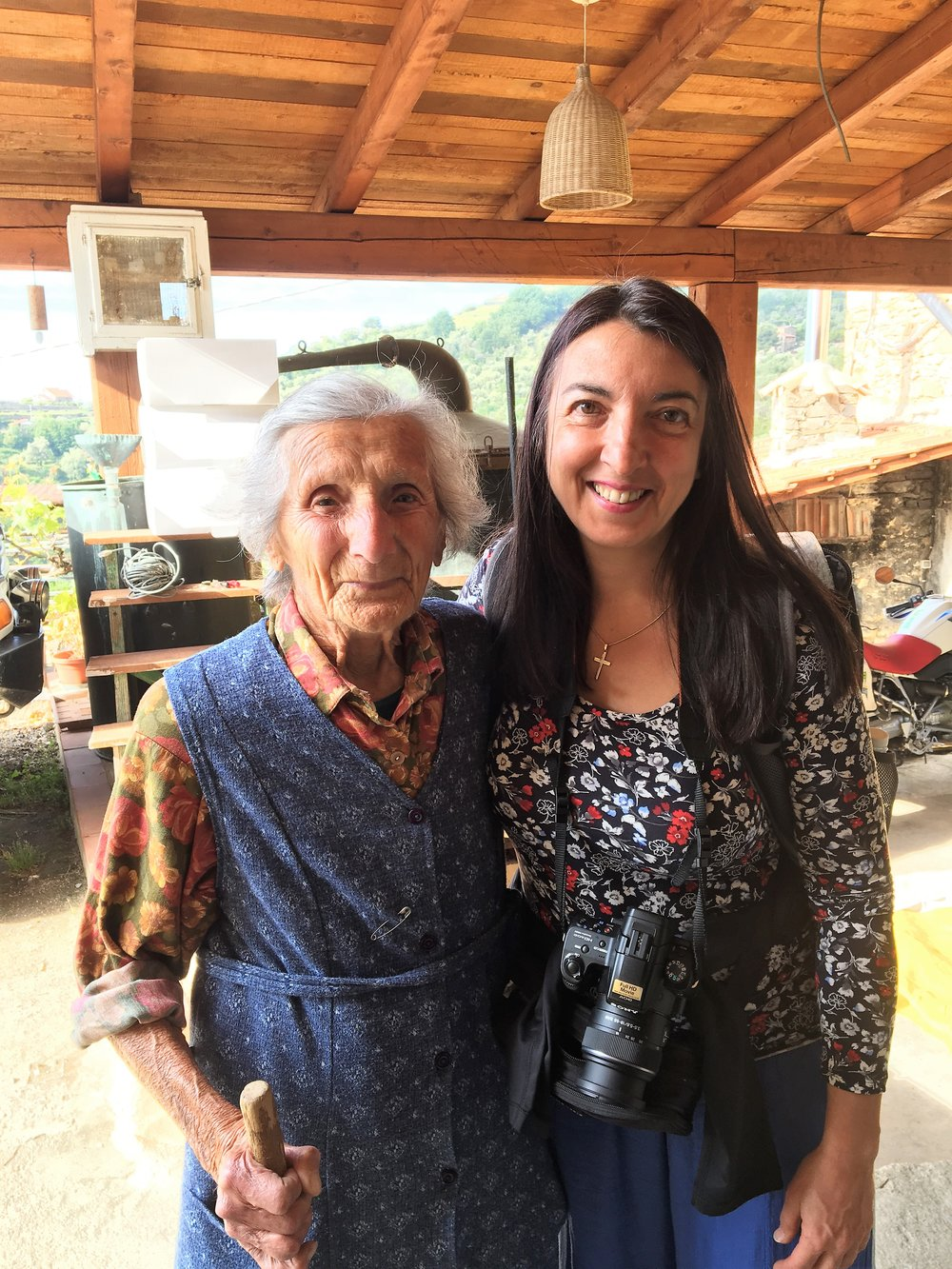 Stefania with Nonna Ines (93 years old)