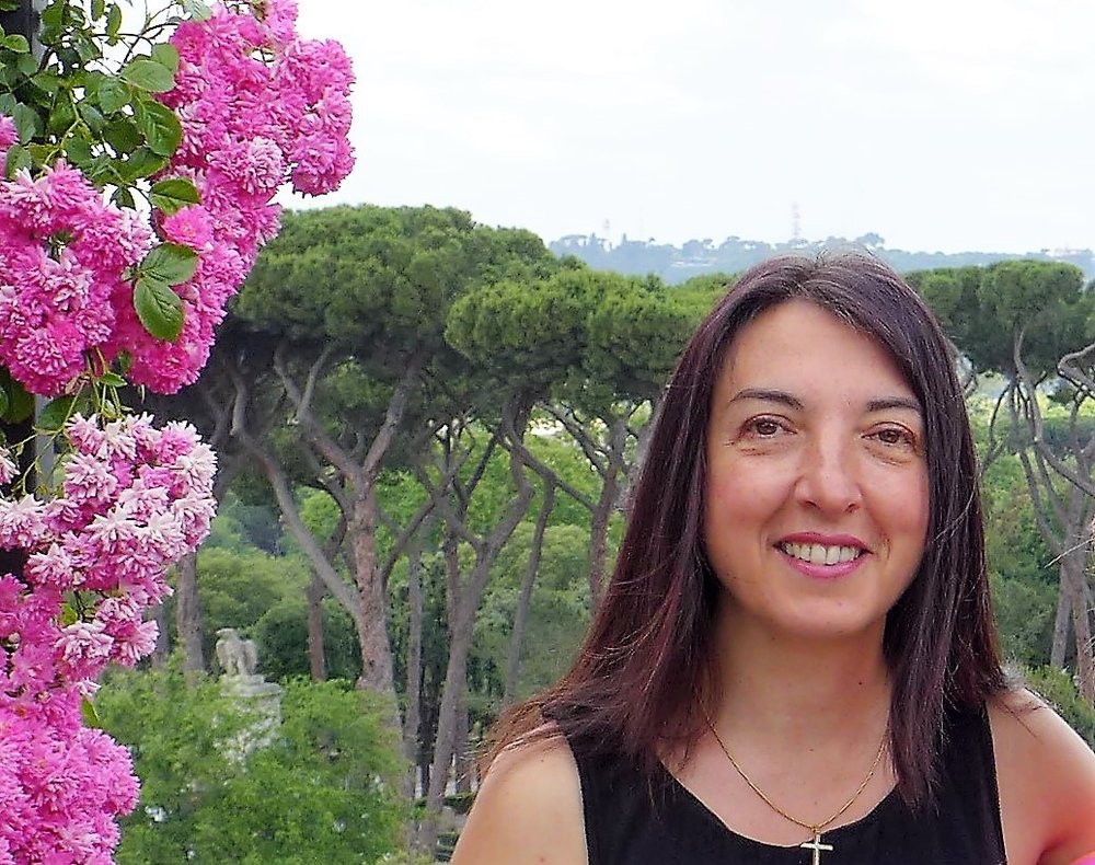 Stefania in Rome - Terrace in front of Villa Borghese