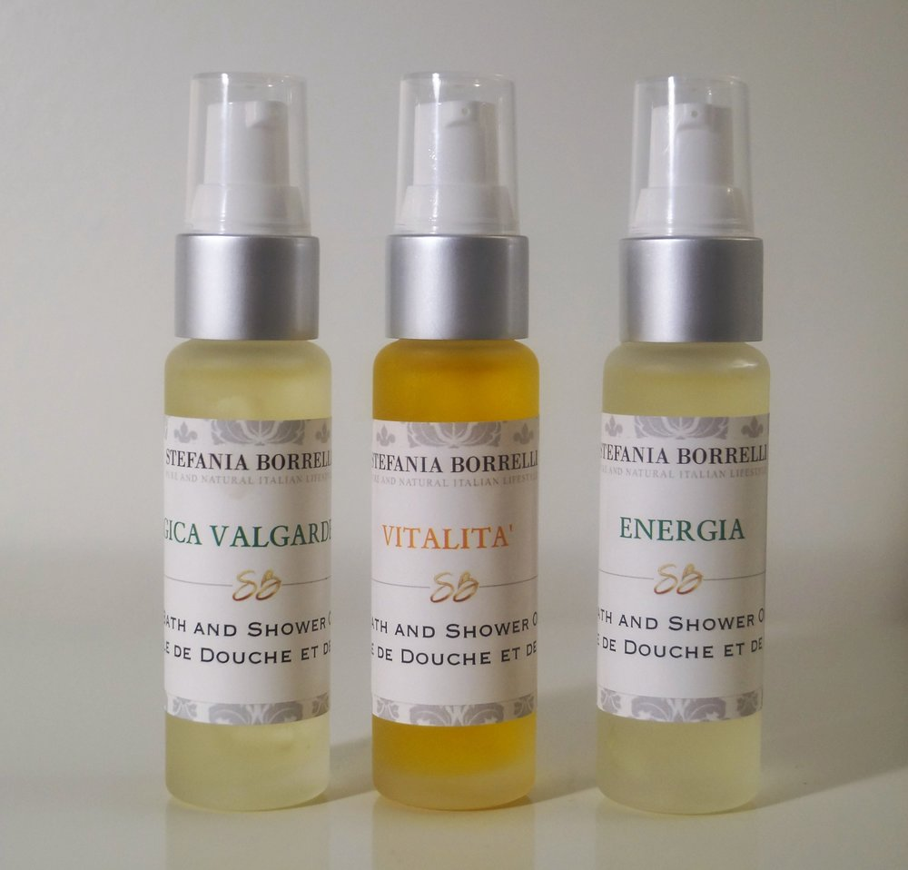 BATH AND SHOWER OILS -