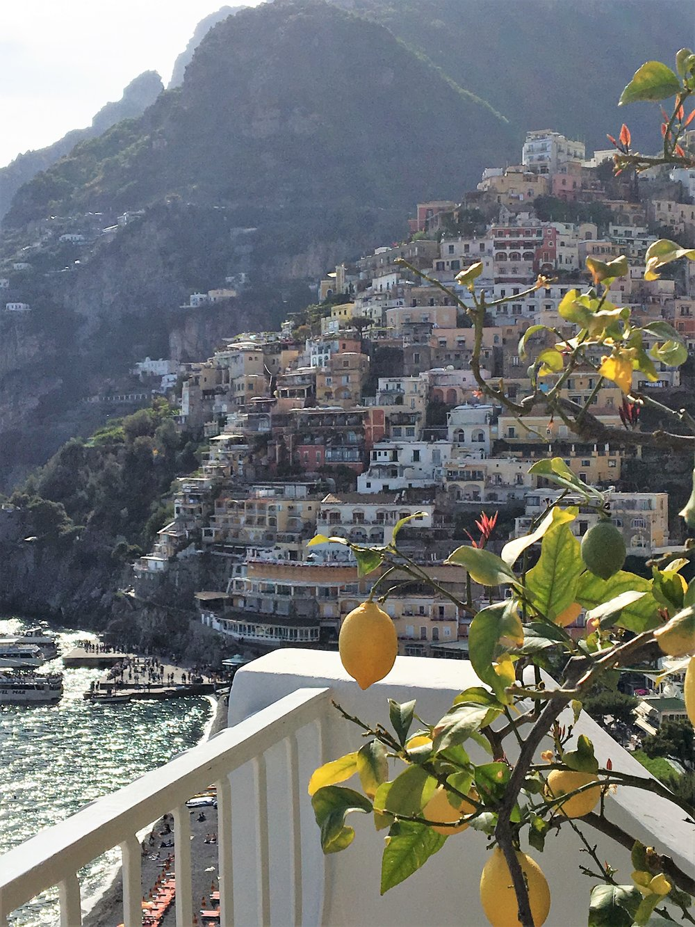 CAMPANIA: with Lemon and Orange from Sorrento