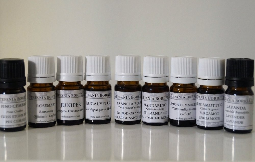 ITALIAN ESSENTIAL OIL COLLECTION -