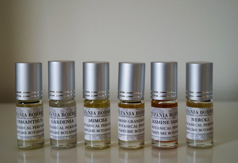 PRECIOUS BOTANICAL PERFUME OILS -