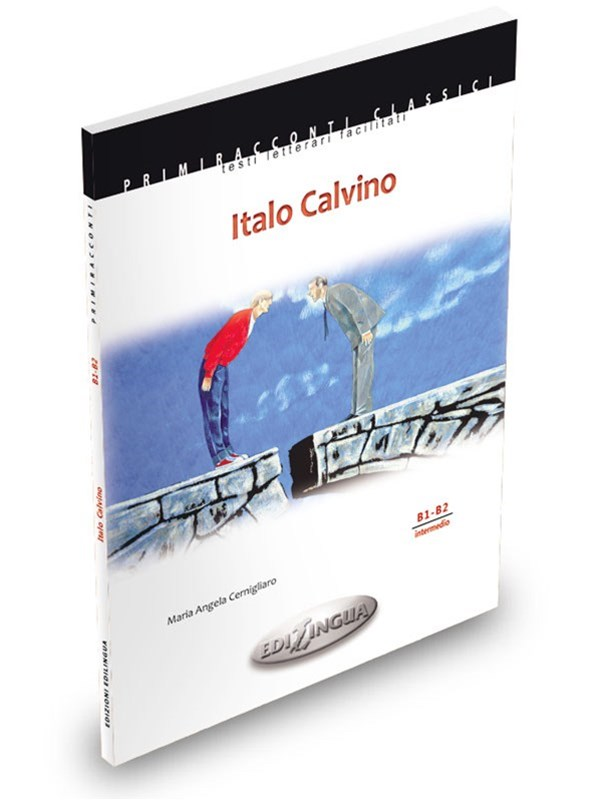 ITALO CALVINO - M. A. CernigliaroEasy-to-read literature. Intermediate level. (B1- B2)Features Italo Calvino (B1-B2) presents selected adapted stories from Il giardino incantato, Il visconte dimezzato, Il barone rampante, Il cavaliere inesistente, Il castello dei destini incrociati, Le città invisibili, Se una notte d'inverno un viaggiatore, Gli amori difficili, Marcovaldo, Palomar. Moreover, the book contains a brief biography of the author, footnotes, original illustrations and a section dedicated to didactic activities with accompanying answers.PRICE: CAD 12.50 +hst -N.2 available