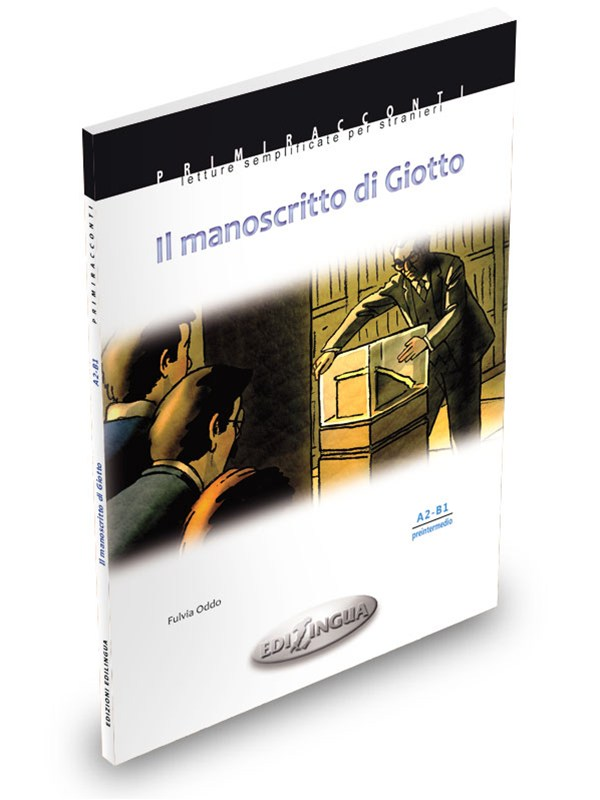 IL MANOSCRITTO DI GIOTTO - F. Oddo Easy readers for foreigners. Elementary-pre intermediate level (A2-B1) FeaturesIl manoscritto di Giotto (A2-B1). Who stole the manuscript? The life of the young protagonists is shaken by the theft of a priceless work, a treatise on painting which also reveals a secret about the great artist Giotto. Could the thief be among them? This is what the police seems to think and this is also what the evidence shows. The case will be solved only thanks to the friendship between the young protagonists and the careful investigation of Inspector Paola Giorgi.PRICE: CAD 18.50 +hstIN ORDER