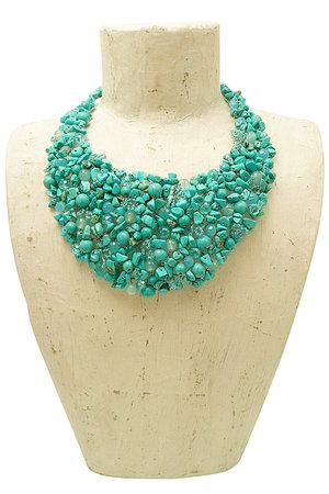 f704c8e12 Turquoise Statement Necklace - Handmade Jewellery. my1808 turquoise 1.jpg