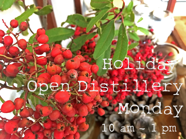 Holiday Open Distillery - Wild Craft Oils - Encinitas, Ca.
